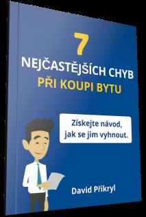 E-book 7 nejčastějších chyb při koupi bytu